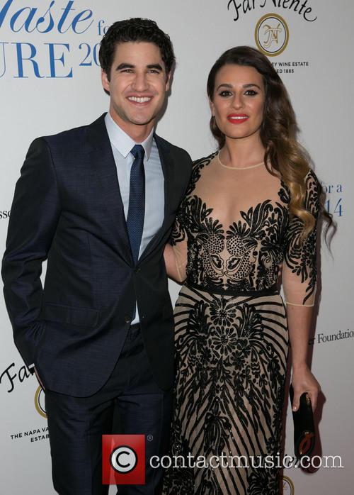 Darren Criss and Lea Michele 7