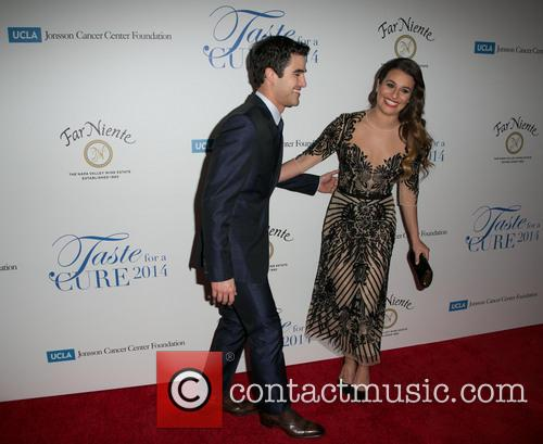 Darren Criss and Lea Michele 1