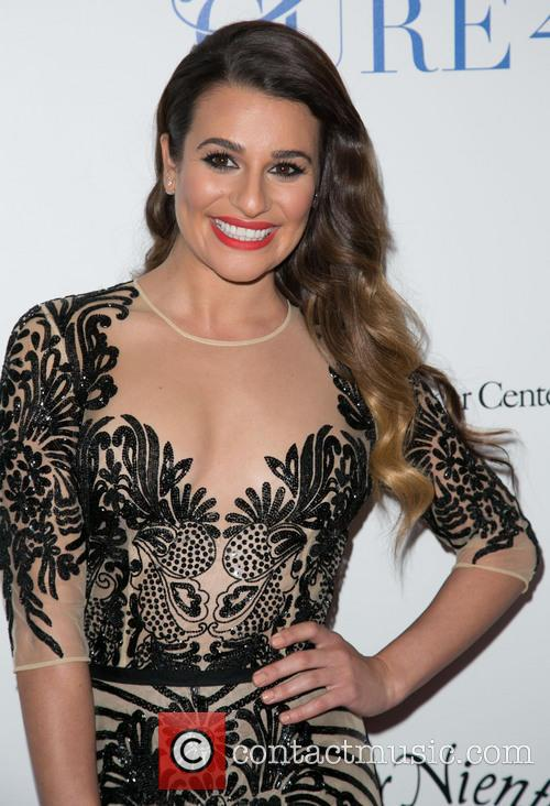 Lea Michele, Beverly Wilshire Hotel in Beverly Hills