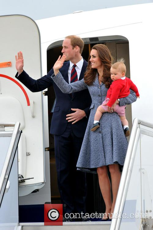 Prince William, Duke Of Cambridge, Catherine, Duchess Of Cambridge and Prince George Of Cambridge 4