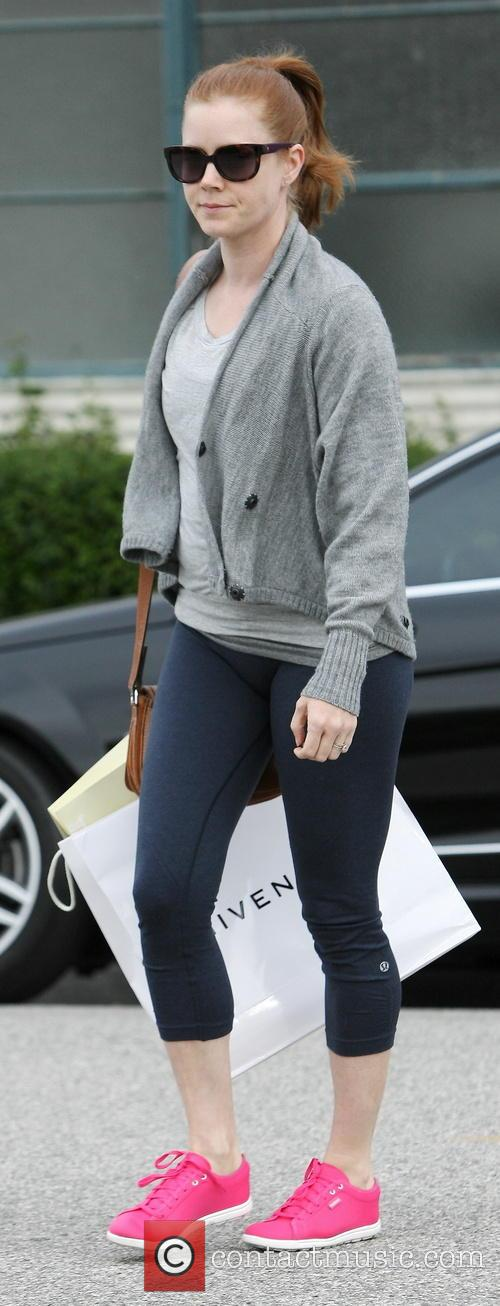 Amy Adams spotted out shopping in Beverly Hills