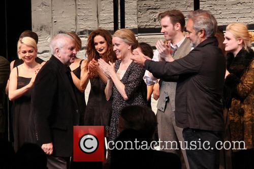 Michelle Williams, John Kander, Linda Emond, Bill Heck, Sam Mendes and Gayle Rankin 1