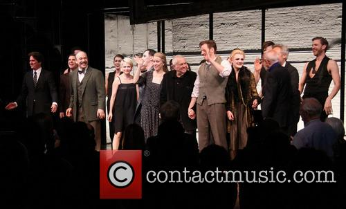 Rob Marshall, Aaron Krohn, Danny Burstein, Michelle Williams, Alan Cumming, Linda Emond, John Kander, Bill Heck, Gayle Rankin, Joe Masteroff and Sam Mendes 3