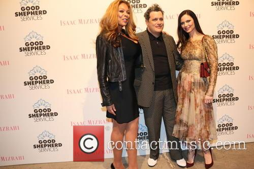 Wendy Williams, Isaac Mizrahi and Georgina Chapman 3