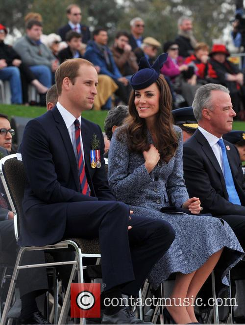 Prince William, Catherine Duchess Of Cambridge and Brendon Nelson 6