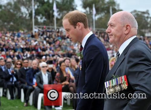 Prince William and Peter Cosgrove 7