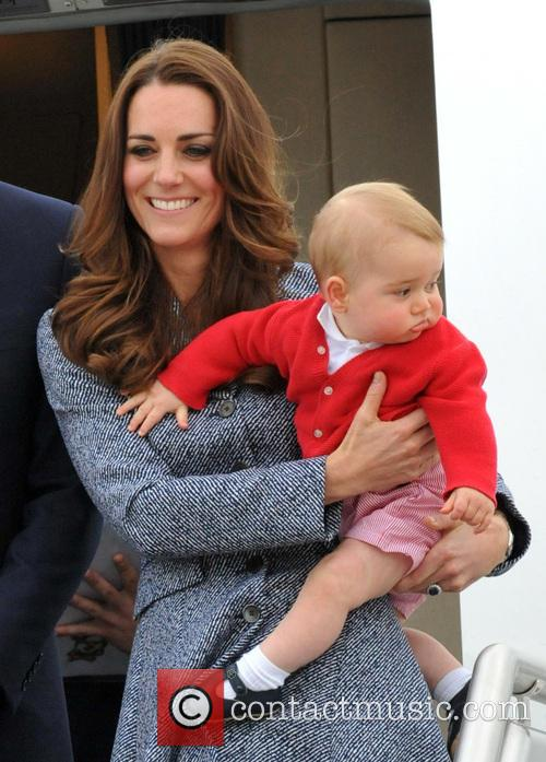 Catherine, Duchess Of Cambridge, Kate Middleton and Prince George 7