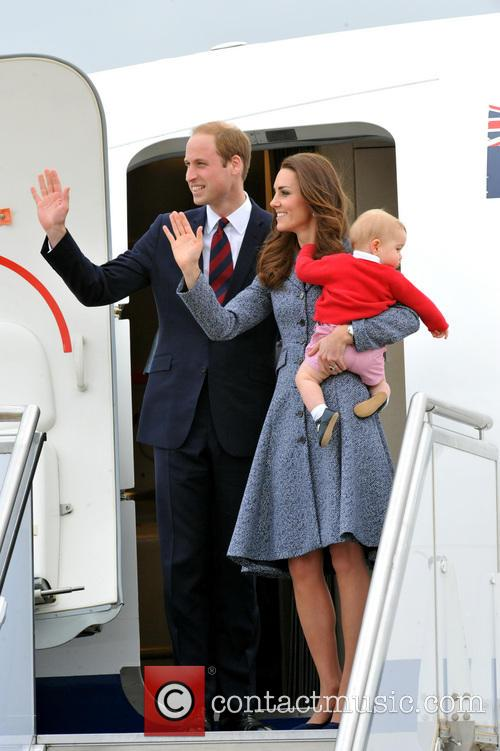 Catherine, Duchess Of Cambridge, Kate Middleton, Prince William, Duke Of Cambridge and Prince George 4