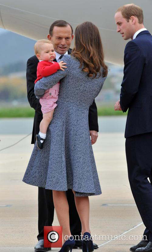Catherine, Duchess Of Cambridge, Kate Middleton, Prince William, Duke Of Cambridge and Prince George 5