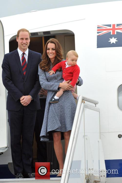 Catherine, Duchess Of Cambridge, Kate Middleton, Prince William, Duke Of Cambridge and Prince George 6