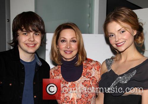 Brendan Meyer, Sharon Lawrence and Izabella Miko 5