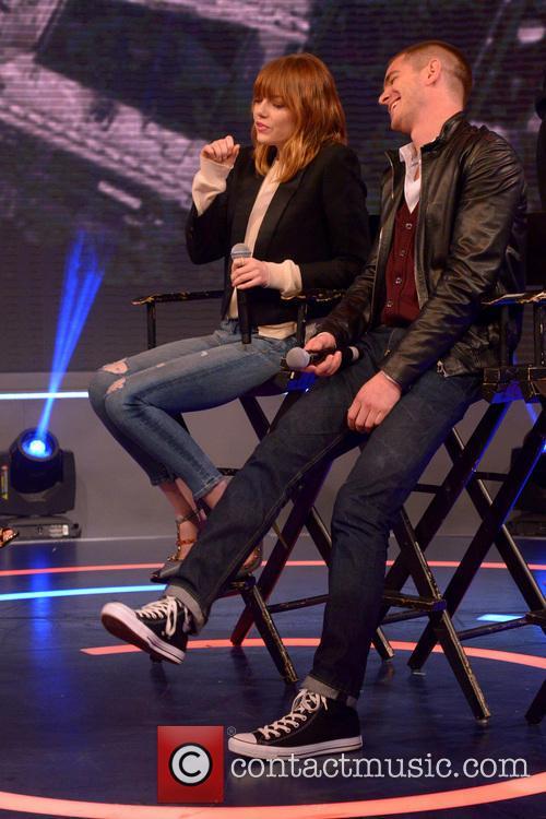 Emma Stone and Andrew Garfield 8