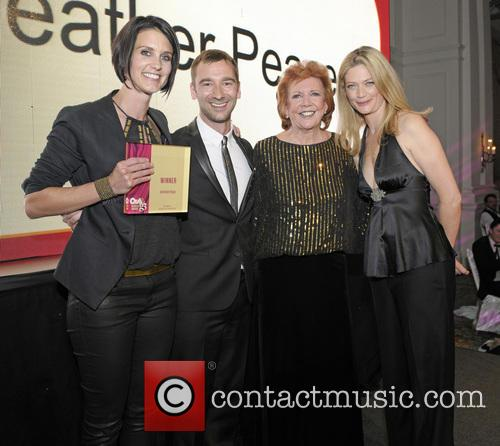 Heather Peace, Charlie Condou, Cilla Black and Sophie Ward