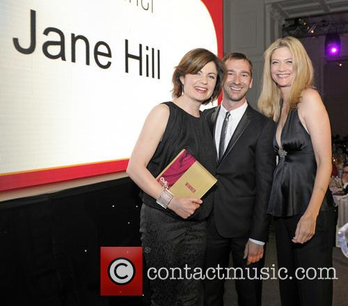 Jane Hill, Charlie Condou and Sophie Ward