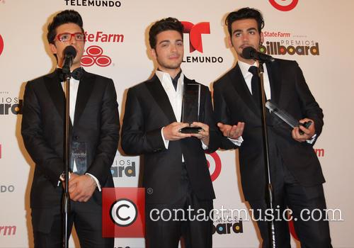 Piero Barone, Gianluca Ginoble and Ignazio Boschetto Of Il Volo