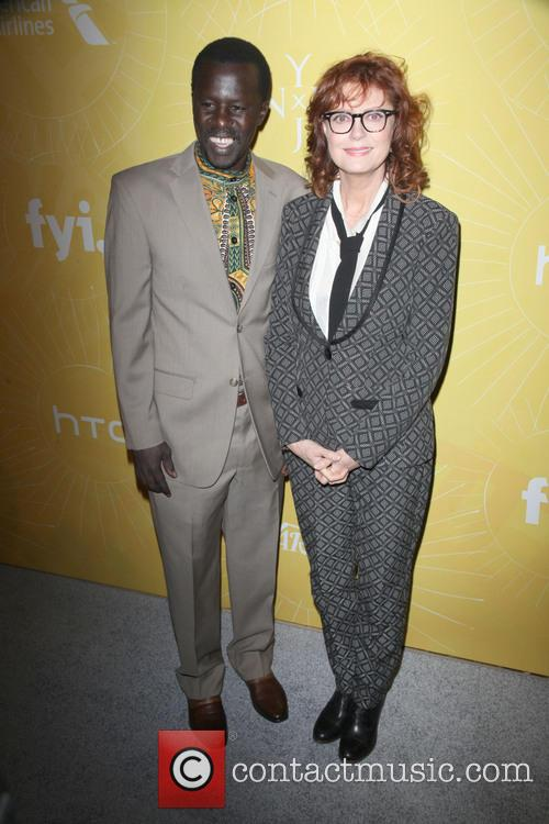 Okello Sam and Susan Sarandon 1