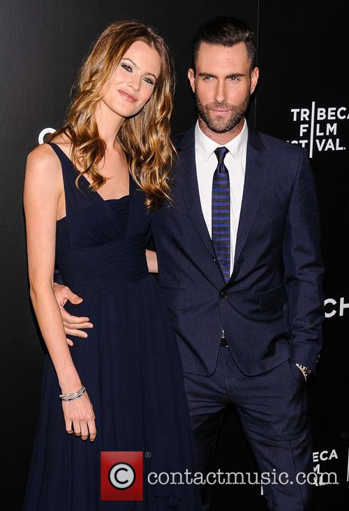 Adam Levine and Behati Prinsloo 4