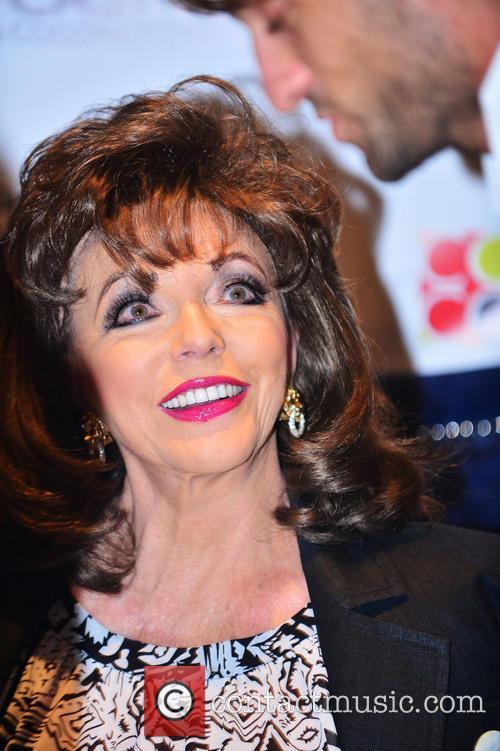 Joan Collins appears at Seminole Casino Coconut Creek...