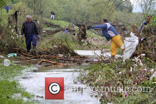 Flooding in Bulgaria causes damage near the capital...