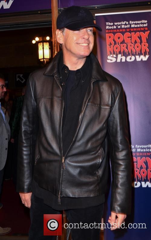 Pierce Brosnan watches the Rocky Horror Show