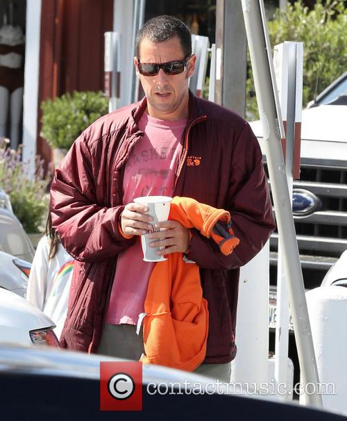 Adam Sandler out in Brentwood