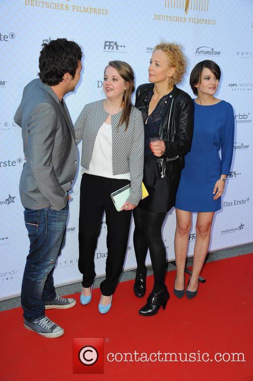 Bora Dagtekin, Jella Haase, Katja Riemann and Lena Schoemann