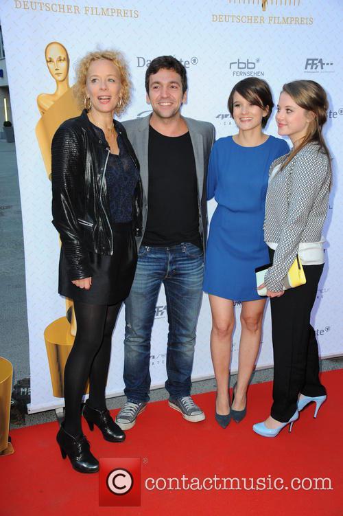 Katja Riemann, Bora Dagtekin, Lena Schoemann and Jella Haase 4