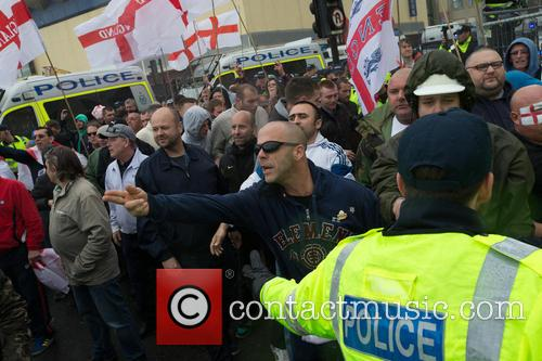 Annual St. George's Day March Along Brighton Sea-Front...