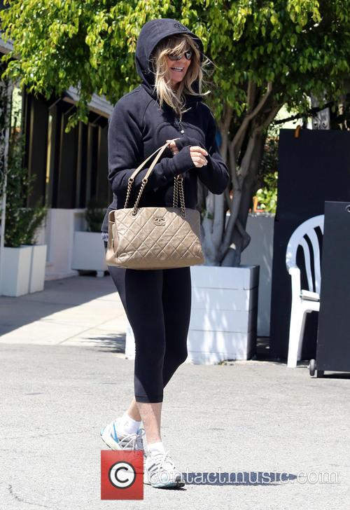Goldie Hawn out in Brentwood