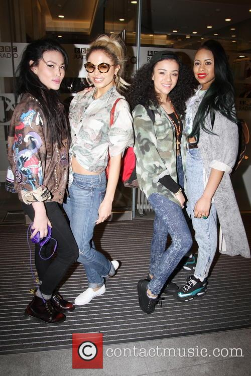 'Neon Jungle' Leave BBC Radio 1 Studio
