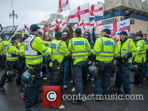 Far-right March for England