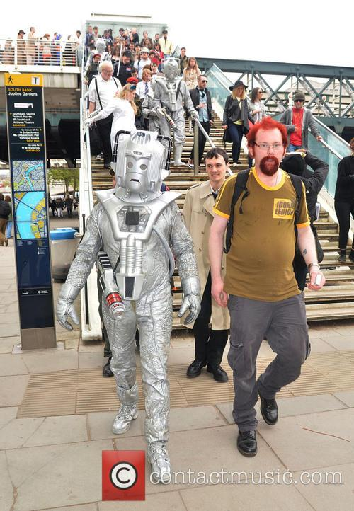 Cyberman and Doctor Who 6