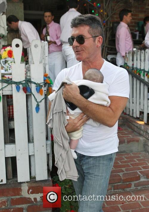 Simon Cowell and Eric Cowell 9