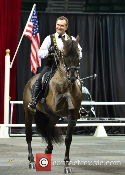 Rene Gasser Rides 'Gala of The Royal Horses'...