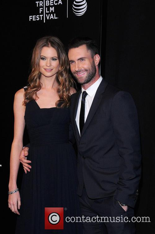 Behati Prinsloo and Adam Levine 2