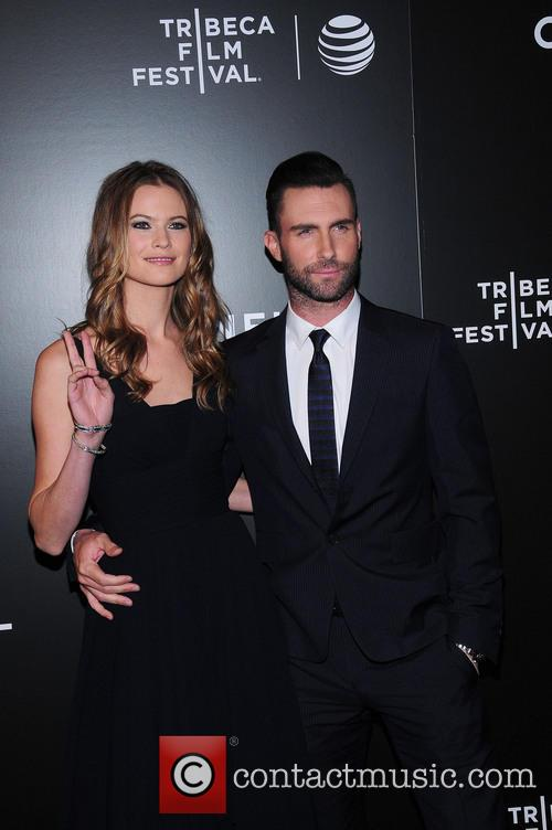 Behati Prinsloo and Adam Levine 3