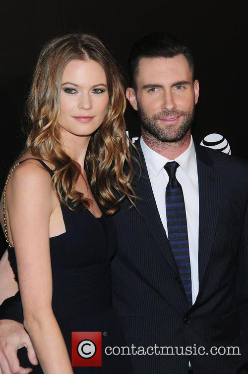 Behati Prinsloo and Adam Levine 4