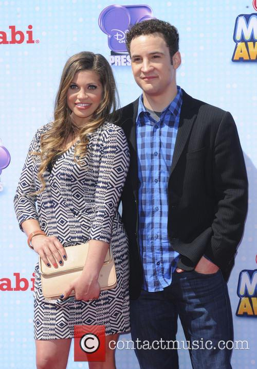 Danielle Fishel and Ben Savage 2