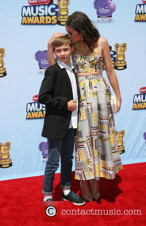 Maia Mitchell and Brother Charlie Mitchell 3