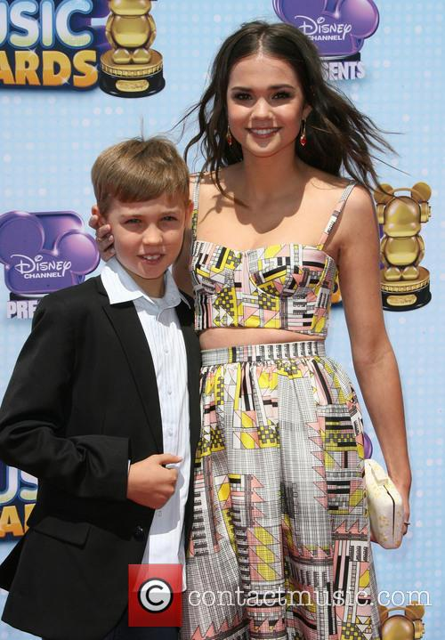 Maia Mitchell and Brother Charlie Mitchell 7