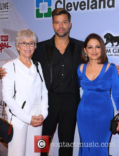 Rita Moreno, Ricky Martin and Gloria Estefan 2