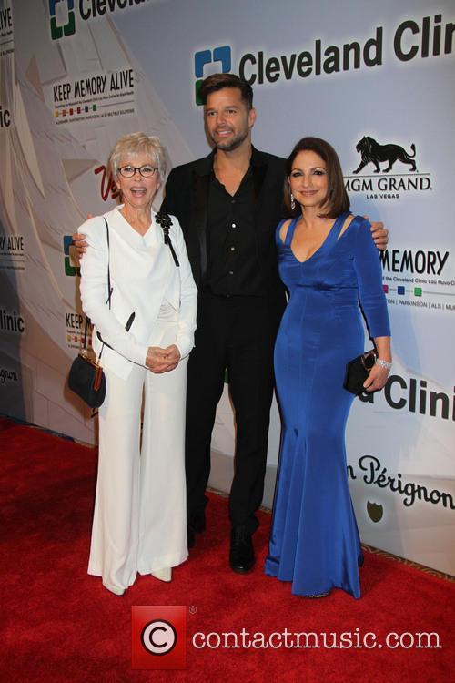 Rita Moreno, Ricky Martin and Gloria Estefan 11