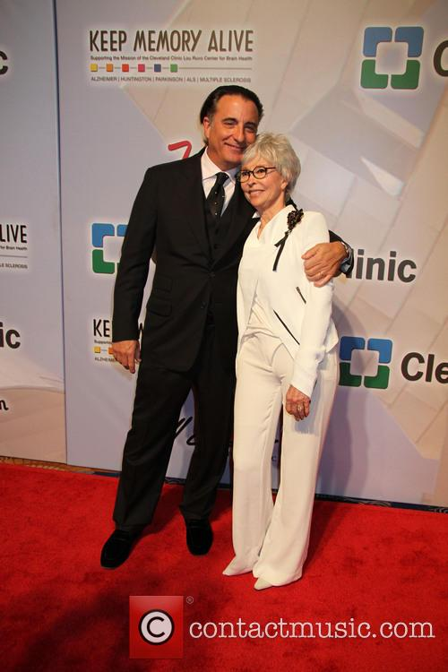 Andy Garcia and Rita Moreno 4