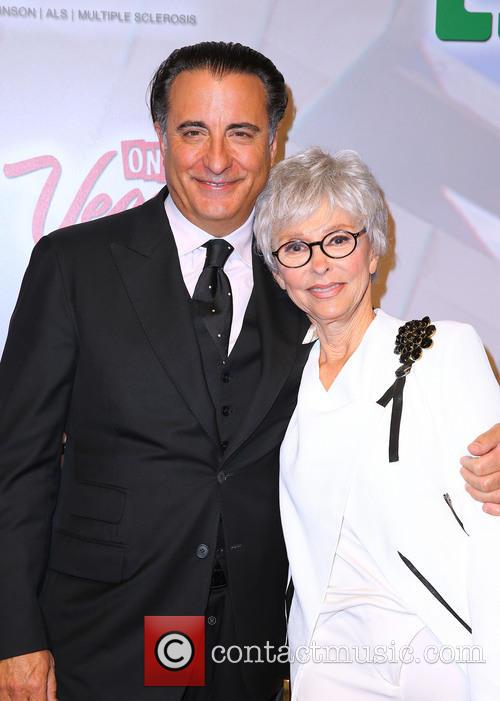 Andy Garcia and Rita Moreno 5