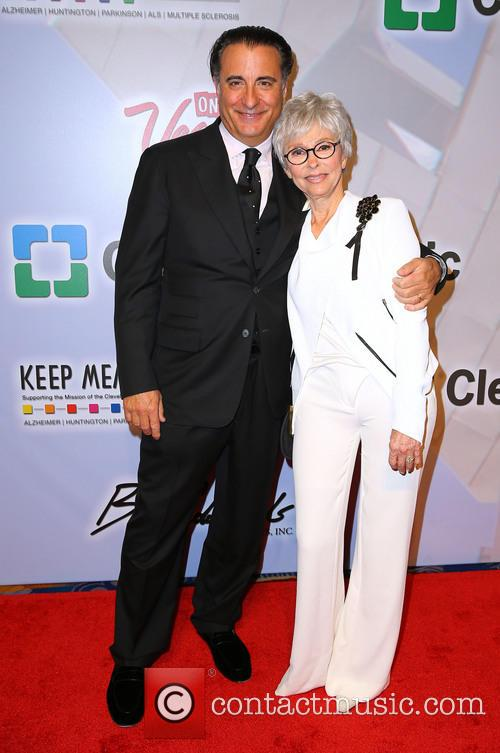 Andy Garcia and Rita Moreno 7