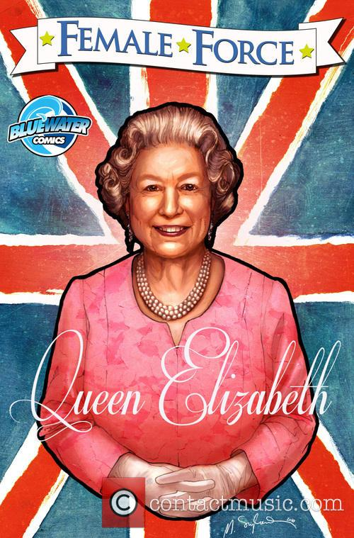 Female Force, Queen, England, Elizabeth Ii' Comic Book and Artwork 3