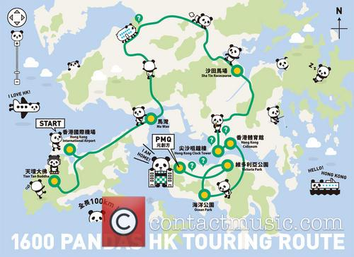 Panda World Tour Hits and Hong Kong