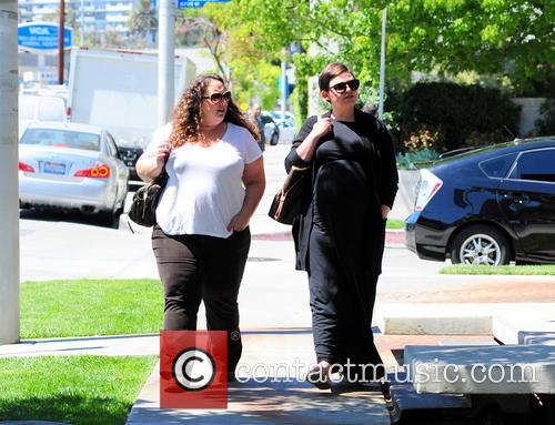 Ginnifer Goodwin Shopping In Beverly Hills