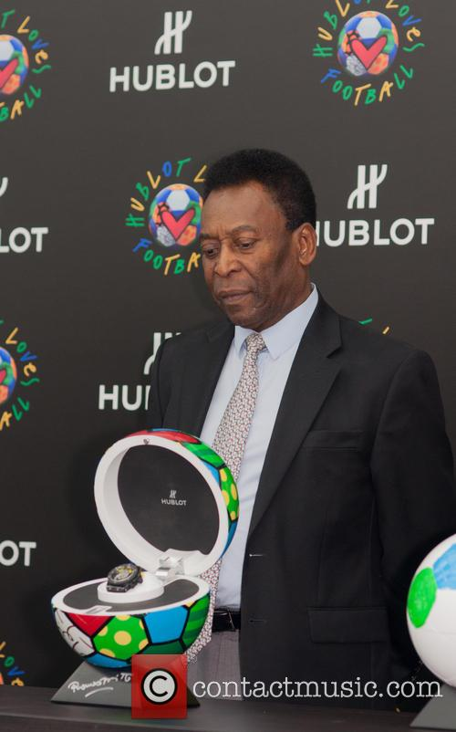 The 'Hublot Loves Football' campaign