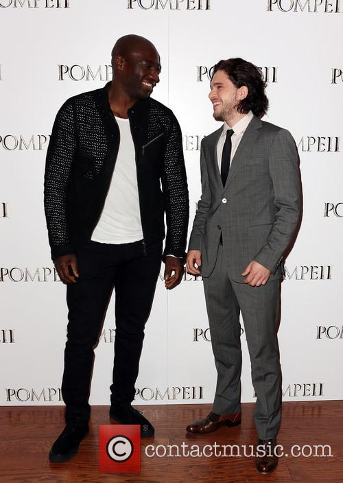 Adewale Akinnuoye-agbaje and Kit Harrington 2